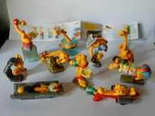 KINDER LES GIRAFES SPORTIVES SERIE COMPLETE 1999 + 1 BPZ