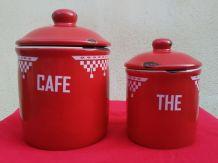 Jolis pots en céramique émaillée - Comptoir de famille