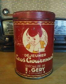 Boite tôle lithographiée (cacao)