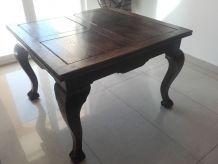 Table ancienne style chippendael en bois (sans les chaises)