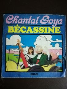 Vinyle 45 tours de Chantal Goya - Bécassine