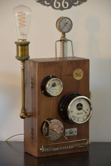 Lampe originale Steampunk