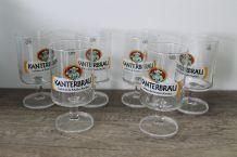 Boîte de 6 verres à bières Kanterbrau Vintage