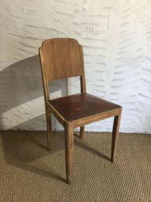 Chaise art déco ancienne