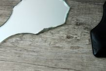 Petit miroir de sac vintage