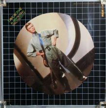 Affiche promotionnelle originale David Bowie 1980 alabama