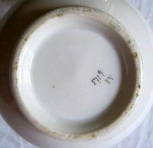 Pichet ancien en porcelaine peinte à la main