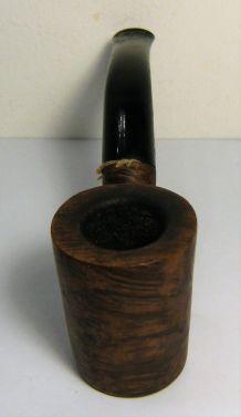 Pipe à fumer courte de marque CHAP bruyère vintage