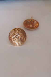 boucle d'oreilles en plaqué or