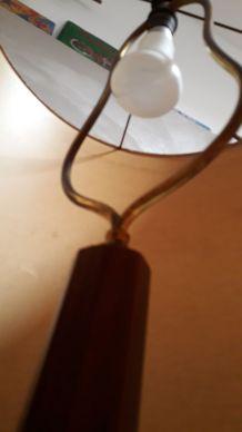 lampadaire a tablette  art deco et bague bro