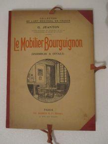 ancienne planche mobilier bourguignon