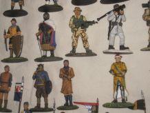 Ancien jouet soldat de plomb