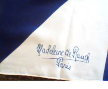 foulard madelaine de Rauche