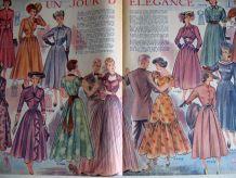 Vintage : « Modes de Paris » n°125, 6 mai 1949