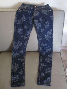 jeans fille 10/11 ans