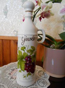 Cruchon  pour gnole porcelaine véritable REVOLE