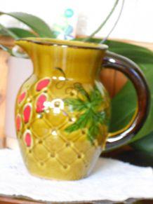 Pichet à eau céramique Résille