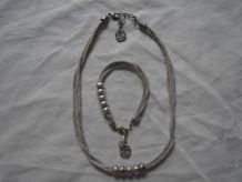 """collier et bracelet """"Retour de Plage"""""""
