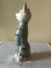 Statuette bois