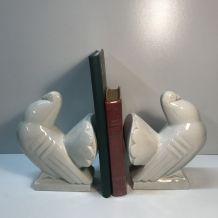 Serres livres art déco en forme d'oiseaux, Saint Clément