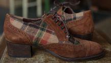 Chaussures vintage cuir