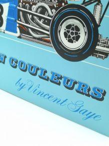 Planches inédites en couleurs formule 1 1970 by Vincent Saye