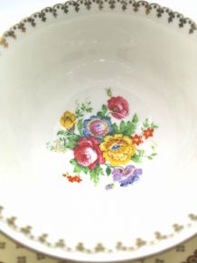 Tasse et soucoupe porcelaine de Limoges Raynaud & Co