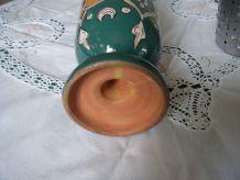 Ancien vase amphore terre cuite artisanat Tunisien