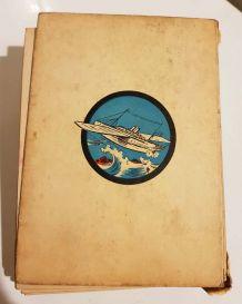 """Livre """"Le Bateau fantôme"""" de Quinel et Montgon - 1932"""