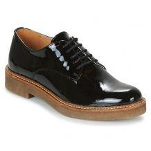 chaussures derbys mocassins noires