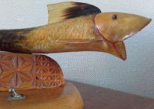 Lampe en forme de poisson vintage