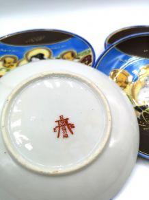 6 sous tasses asiatiques