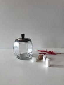 Sucrier vintage en verre