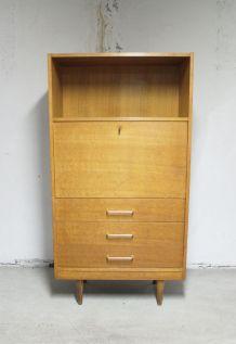 Secrétaire vintage 3 tiroirs 1970's