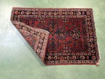Petit tapis pakistanais en laine fait main - 88x60cm