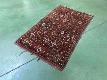 Tapis berbère en laine fait main - 1m43x88cm