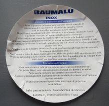 """cocotte multi-fonctions en inox années 80 """"Baumalu"""""""