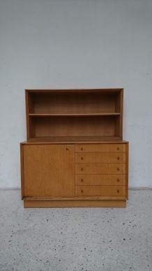 Commode étagères d'artisan années 60