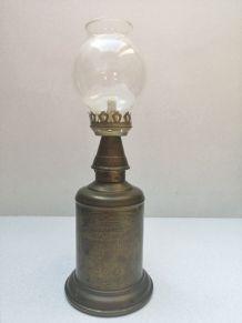 Ancienne lampe olympe