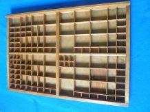 casier d'imprimerie  ancien