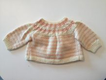 Brassière laine 1 mois mixte