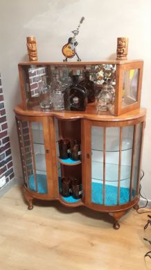 bar vintage cabinet cocktail 1950 rare