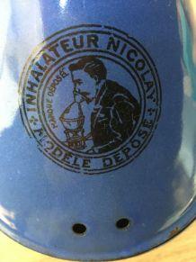 Inhalateur Nicolay émaillé