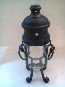 Photophore ou lanterne à huile ou à bougie