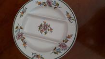 12 anciennes assiettes à asperges de Lunéville