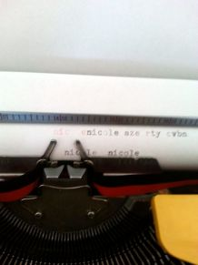 Machine à  écrire Brothers Nogamatic 400 années 70
