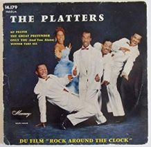 The PLATTERS  Vinyle original 45 tours 4 titres
