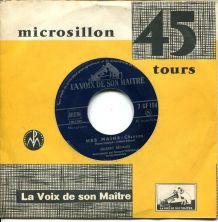 GILBERT BÉCAUD – 1954 Vinyle 45t (SP 2 titres) La Voix De So