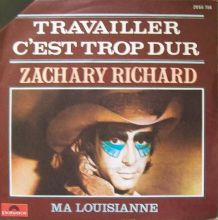 ZACHARY RICHARD vinyles 45T (SP 2 titres)
