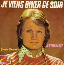 CLAUDE FRANÇOIS - 1973 - Vinyle 45t (SP 2 titres)